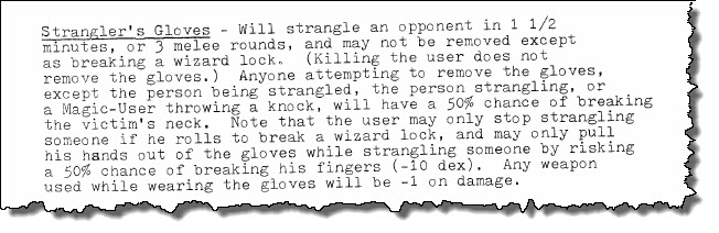 Stranglers Gloves