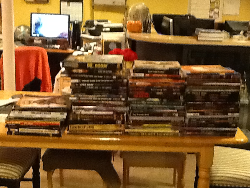 The RPGs I bought at GenCon